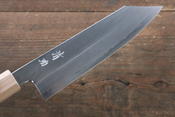Seisuke Silver Steel No.3 Bunka Japanese Knife 165mm with Cherry Blossoms Handle - Seisuke Knife