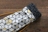 Japanese Style Knife Roll BlueHexagon 1 Pocket - Seisuke Knife