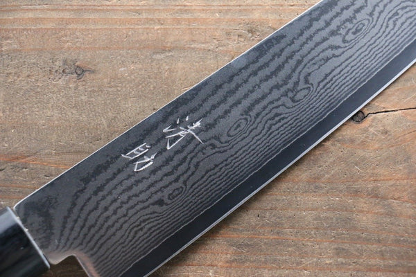 Seisuke VG10 63Layer Damascus Gyuto Japanese Knife 210mm with Cherry Blossoms Handle - Seisuke Knife