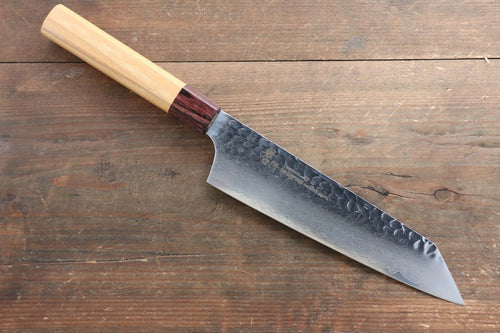 Sakai Takayuki VG10 33 Layer Damascus  Kengata Santoku Japanese Chef Knife 160mm with American Cherry Handle