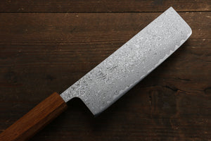 Seisuke SLD 49 Layer Damascus Nakiri Japanese Knife 165mm - Seisuke Knife