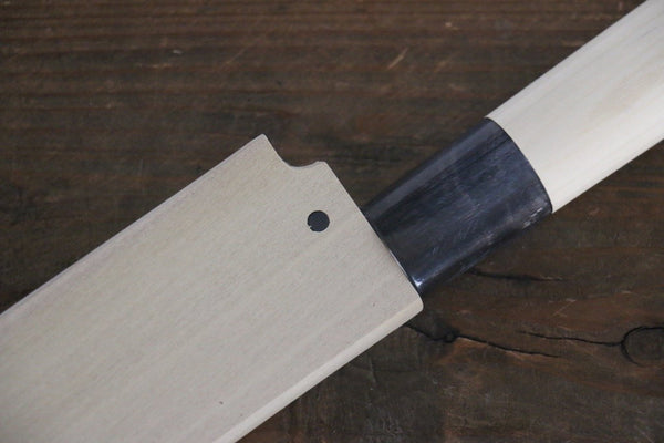 [Left Handed] Magnolia Saya Sheath for Yanagiba Chef's Knife with Plywood Pin