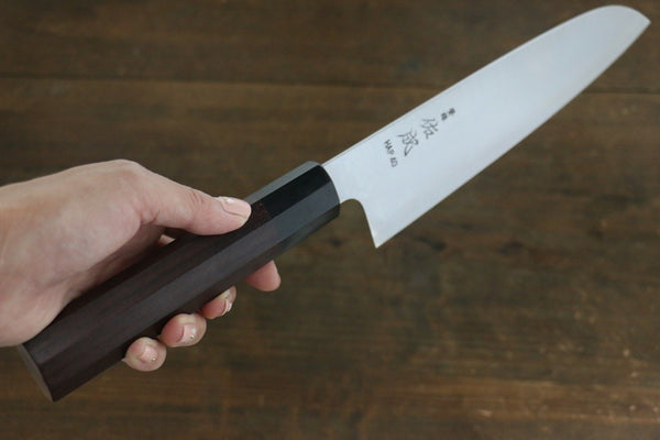 Sukenari HAP40 3 Layer Santoku Japanese Chef Knife 185mm
