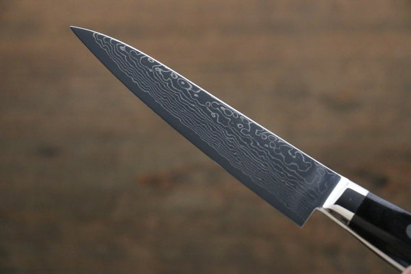 Takayuki Iwai VG10 Fumon Damascus Petty Japanese Chef Knife 105mm
