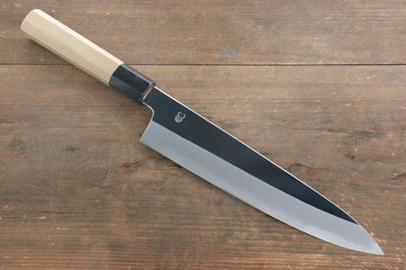 Kikumori VG10 Mirrored Finish Sujihiki Japanese Chef Knife 240mm with Ebony Handle
