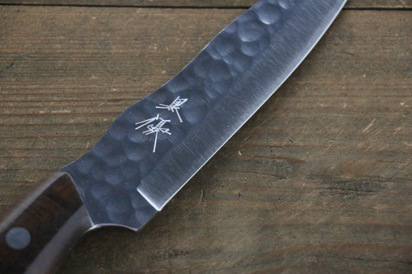 Kurosaki R2/SG2  Hammerd Hunter knife Japanese Chef Knife 135mm with Acacia Handle