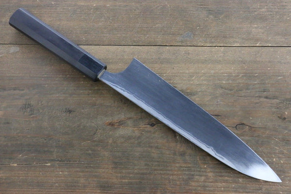 Seisuke Blue Steel No.2 Hammered Damascus Gyuto Japanese Chef Knife 210mm