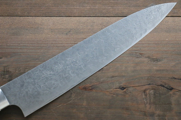 Saji R2/SG2 Diamond Finish Damascus Gyuto Japanese Chef Knife 240mm with Bone Handle