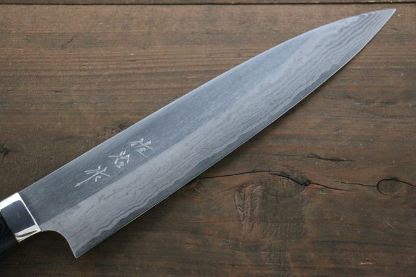 Saji Blue Super Steel Gyuto Japanese Chef Knife 210mm with Black Micarta Handle - Seisuke Knife