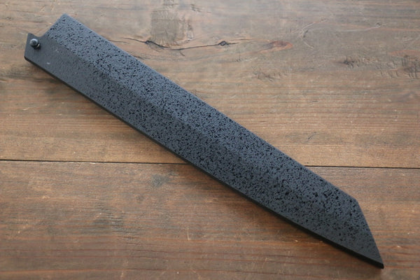 SandPattern Saya Sheath for Kiritsuke Yanagiba Knife with Ebony Pin-260mm