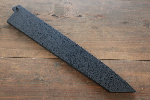 Kuroishime Saya Sheath for Kiritsuke Yanagiba Knife with Ebony Pin-260mm