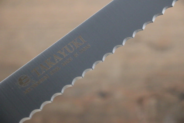 Sakai Takayuki Swedish Steel Bread Knife Japanese Chef Knife 300mm