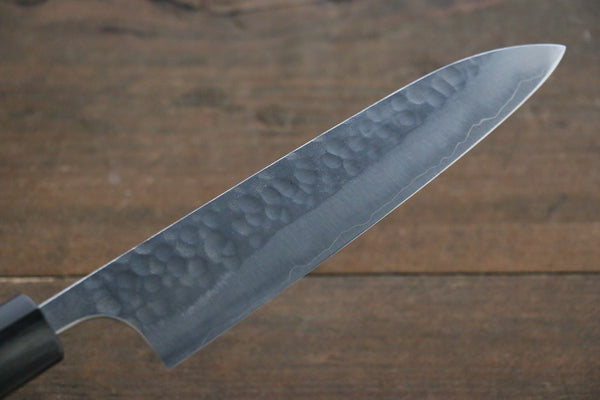 Yoshimi Kato Silver Steel No.3 Hammered Petty Japanese Chef Knife 150mm