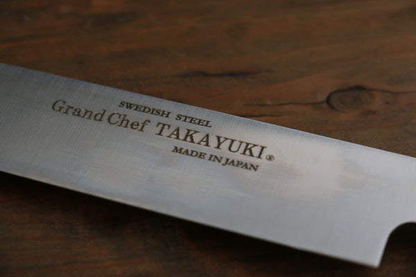 Sakai Takayuki Grand Chef Japanese Sword Style Sushi Chef Knife- Right Handed - Seisuke Knife
