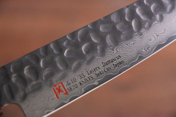Iseya VG10 33 Layer Damascus Petty Utility Japanese Chef's Petty Knife, 150mm