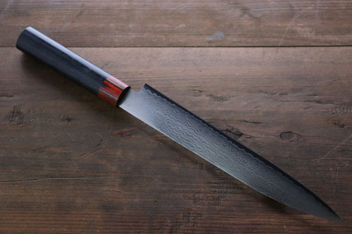 Iseya VG10 33 Layer Damascus Sashimi Slicer Japanese Sushi Chef Knife, 210mm