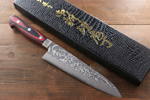 Yoshimi Kato VG10 nickel Damascus Gyuto Japanese Chef Knife 180mm