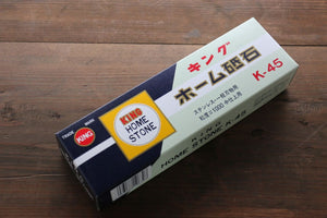 King Sharpening Stone #1000 Grit with Plastic Base K-45 - Seisuke Knife
