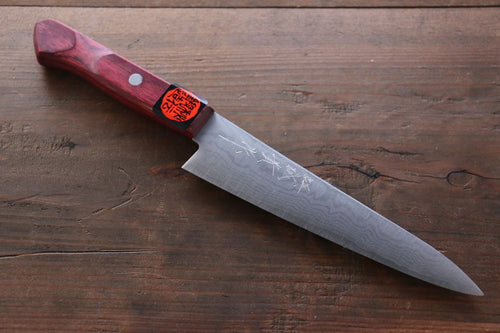 Shigeki Tanaka 17 Layer Damascus Hand Forged Japanese Chef's Petty Knife 150mm