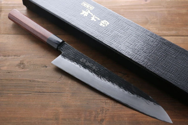 Takayuki Iwai Blue Super Japanese Chef's Custom Single edged Knife 240mm - Seisuke Knife