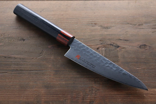 Iseya VG10 33 Layer Damascus Japanese Chef's Small Santoku Knife, 135mm - Seisuke Knife
