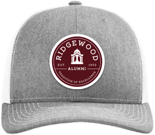 RHS Alumni Trucker Hat - GREY - PREORDER - Shipping 12/28/20