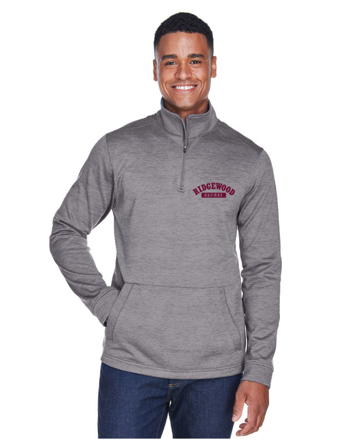 Men's Embroidered Fleece Quarter-Zip