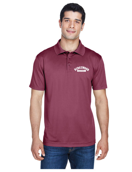 Men's Embroidered 4 oz. Polytech Polo