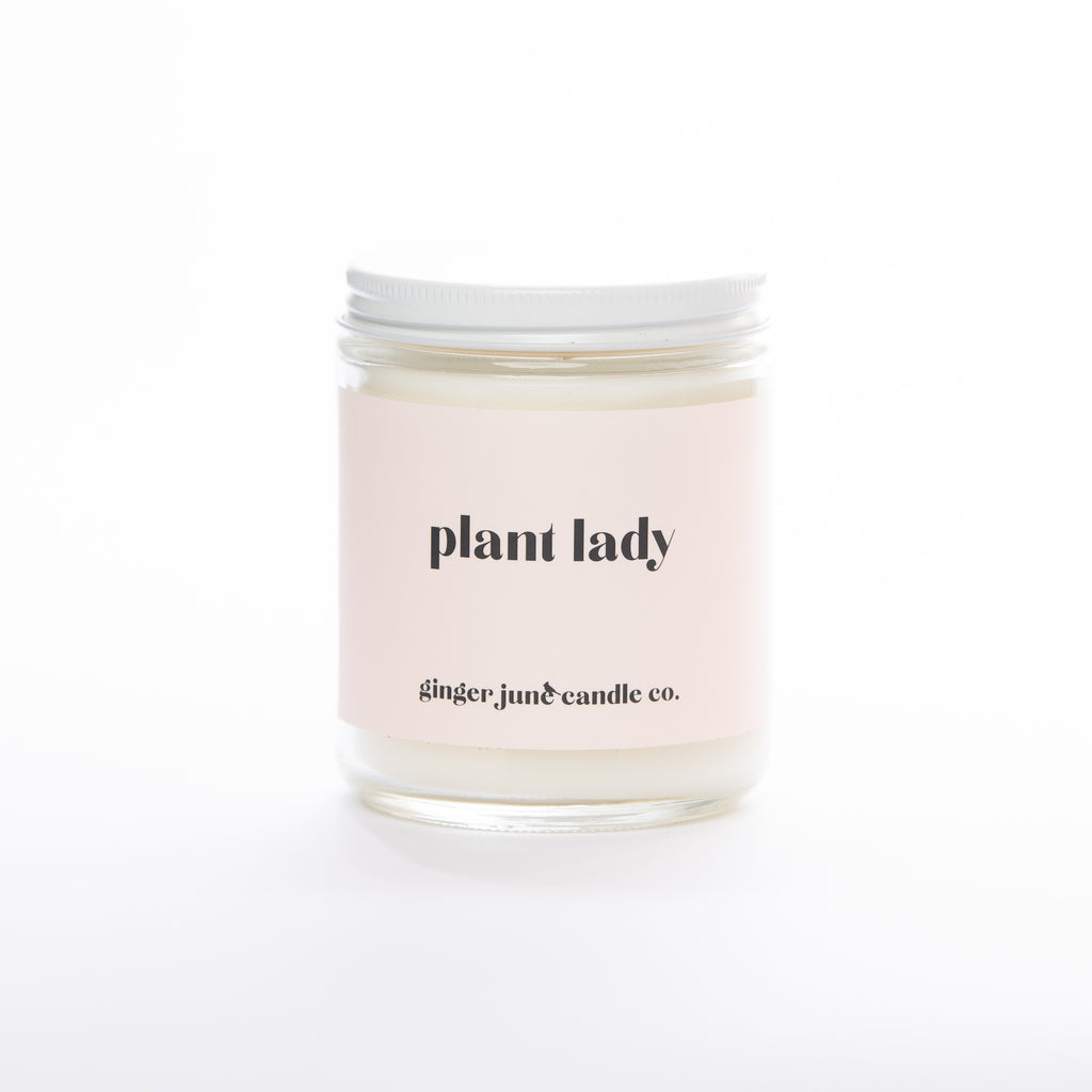 plant lady • soy candle