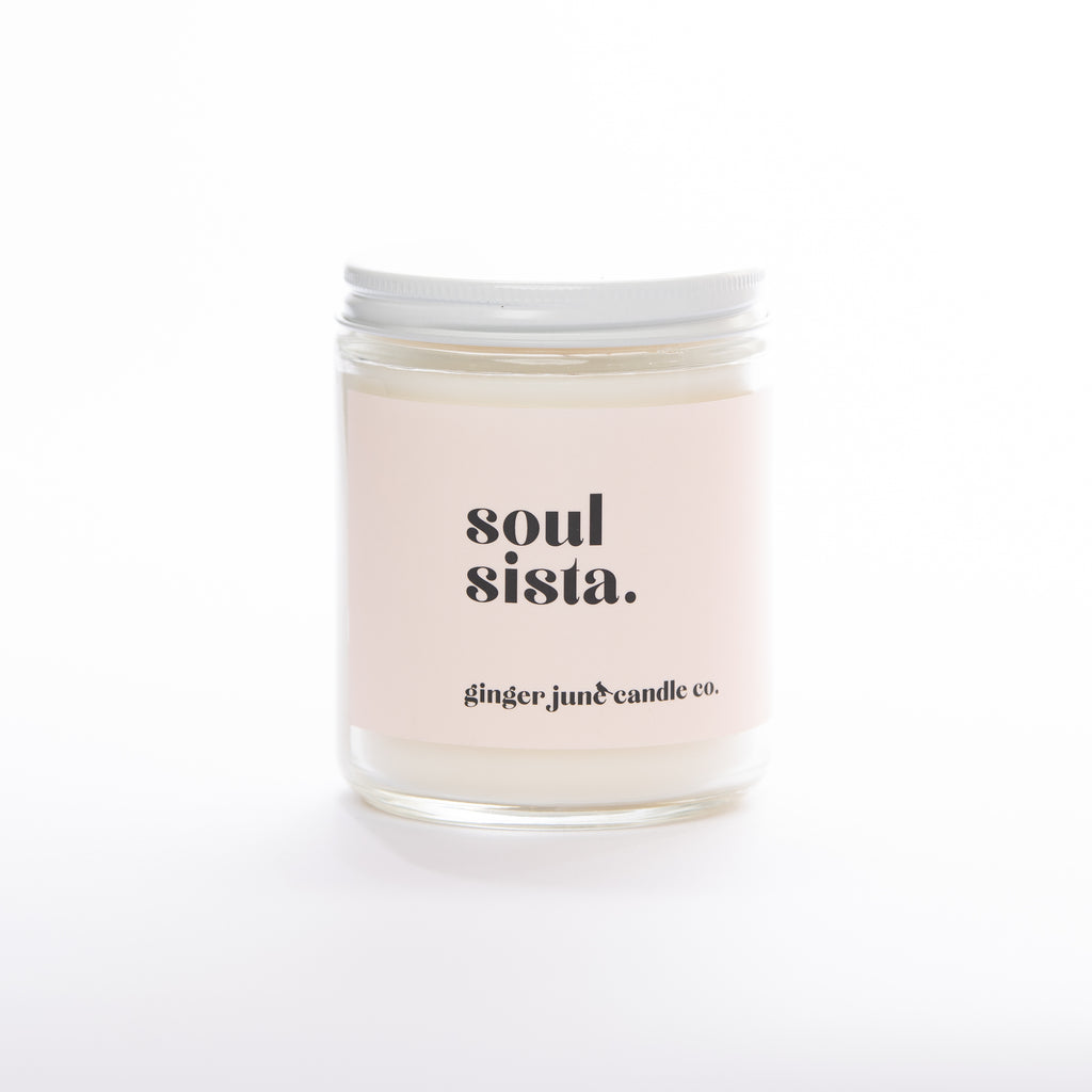 soul sista • soy candle