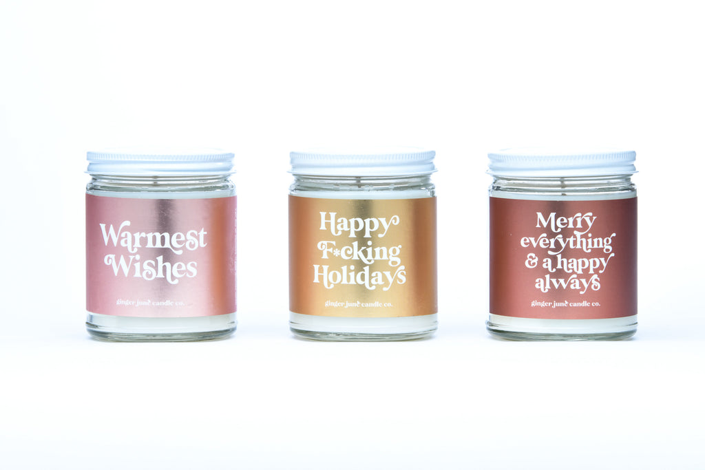 warmest wishes • non-toxic soy candle