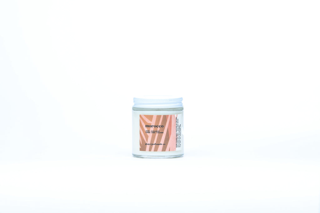 morocco • terra collection • non toxic soy candle