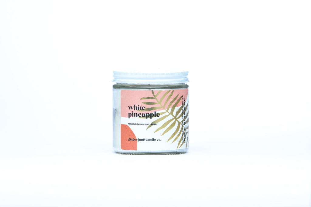white pineapple • terra collection • non toxic soy candle