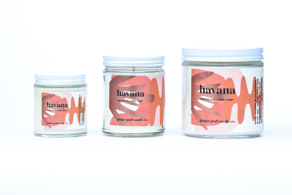 havana • terra collection • non toxic soy candle