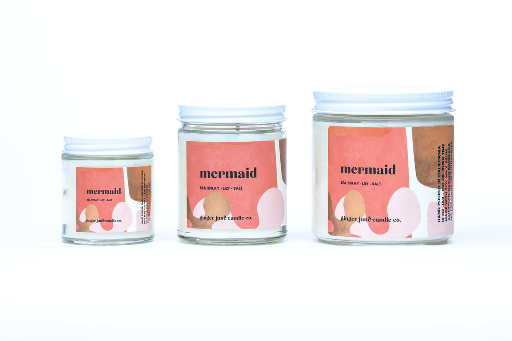 mermaid • terra collection • non toxic soy candle