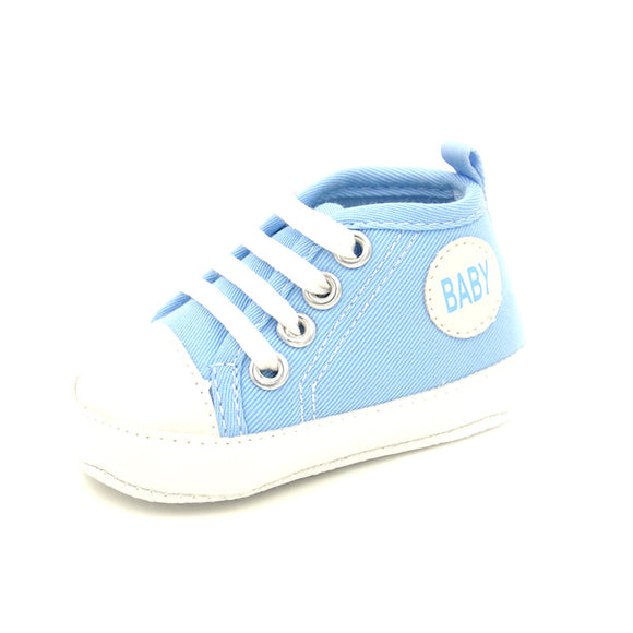 Spring Blue Baby Casual Canvas Sneaker