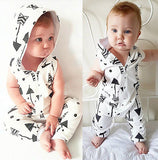 Baby Arrow Clothing Hooded Outfit