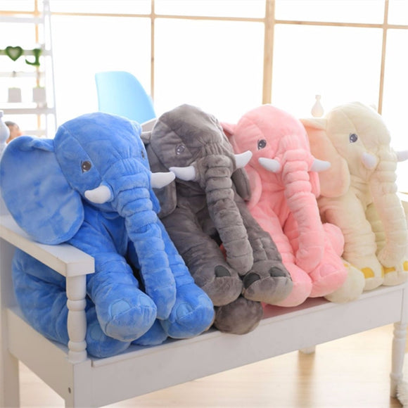 Elephant Long Nose Pillows
