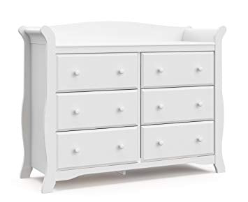 Storkcraft Avalon 6 Drawer Universal Dresser - Gaia Spot
