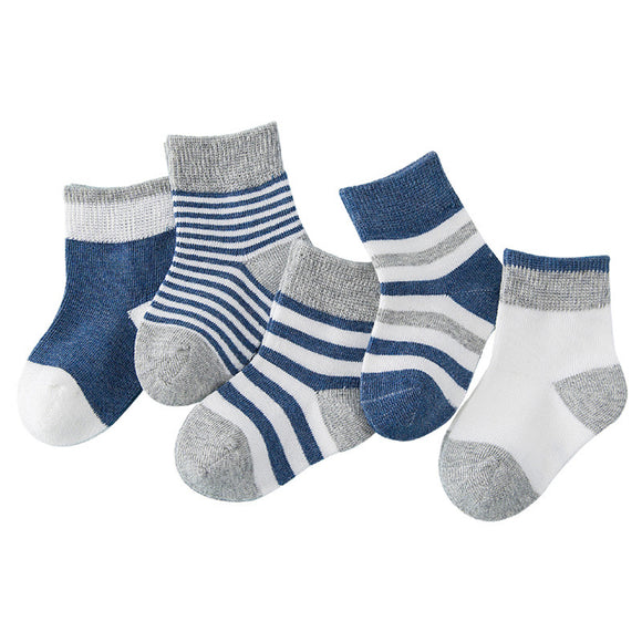 Winter Navy Blue Children Socks