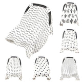 muslin blanket car seat cover