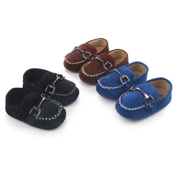 Baby boy shoes for 0-18M Moccasins
