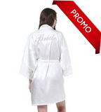 Beautiful Silk & Lace Wedding Robe for Brides - Gaia Spot