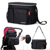 Thermal insulation diaper bag for strollers