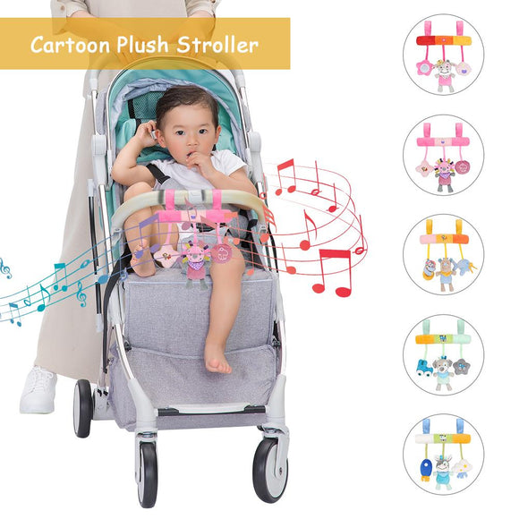 Cute Animals Toy Stroller Car Seat Mobile