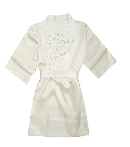 Satin Solid Bridal Bath Robe