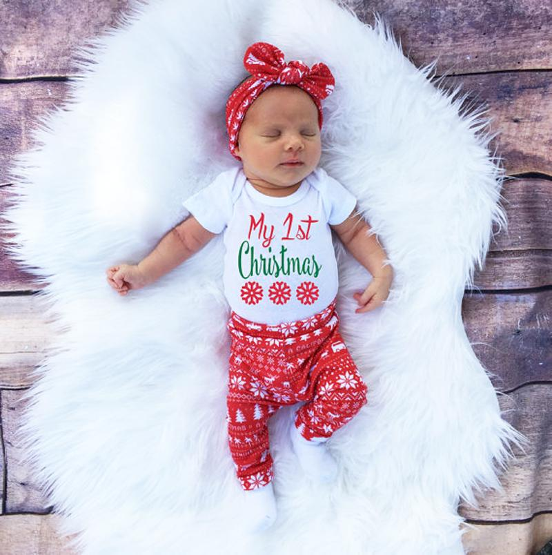 ... My First Christmas Baby Outfit Set ... - My First Christmas Baby Outfit Set €� Gaia Spot