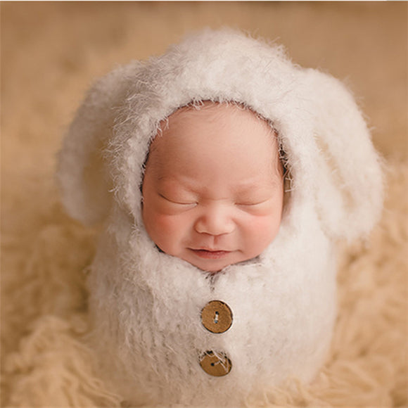 Jeremy One-piece Warm Costume with Soft Fluffy Ears - Gaia Spot