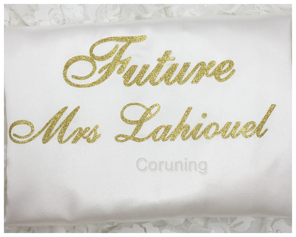 Milan Personalized Wedding Silk Robes 2 Print Location - Gaia Spot