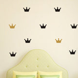 36pcs/set Crown Bedroom Wall Decals